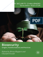 Biosecurity - Origins, Transformations and Practices Edited