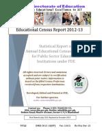 NT Report EMIS 2012-13 Ver 13.0.5 Education Census ICT