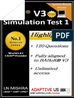 Free CBAP Simulation Question Set 01