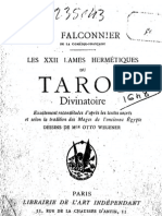 Les XXII Lames Du Tarot des Mages Egyptiens