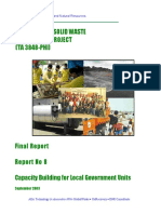 Report 8 Capacity Building