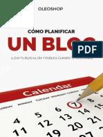 eBook Como Planificar Un Blog