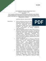 PERMEN LH NO 30 TH 2009 TENTANG TATA LAKSANA PERIZINAN DAN PENGAWASAN PENGELOLAAN LIMBAH BAHAN BERBAHAYA DAN BERACUN.pdf