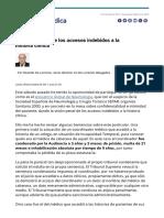 20171009 La Vision Penal de Los Accesos Indebidos