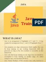 Java Traning in Chennai