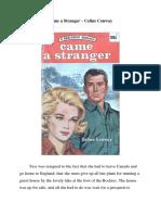 Came a Stranger – Celine Conway