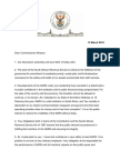 Ramaphosa Moyane letter