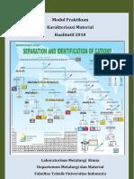 Modul Praktikum Karakterisasi Material Kualitatif 2018