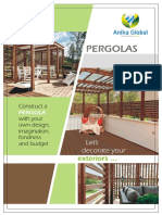 Anika Global - Leaflet - Pergolas