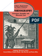 (Language, Discourse, Society) Ian Hunter, David Saunders, Dugald Williamson (auth.)-On Pornography_ Literature, Sexuality and Obscenity Law-Palgrave Macmillan UK (1993).pdf