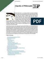 Internet Encyclopedia of Philosophy » TimeInternet Encyclopedia of Philosophy » Print