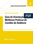 Guia de Orientacao Para Melhores Praticas de Comites de Auditoria