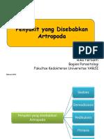 Penyakit Yang Disebabkan Artropoda 2017