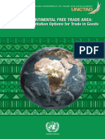 UNCTAD 2016 Analysis of Africa Free Trade Area
