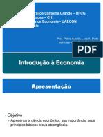 Aula Introdução à Economia