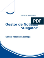 Gestor de Noticias Alligator