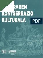 Naturaren Kontserbazio Kulturala