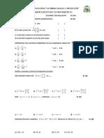 SEGUNDO Examen Supletorio de matemáticas