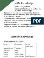 L2Scientific Knowledges