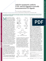 Andreas Pfaltz Design of Chiral Ligands for Asymmetric Catalysis