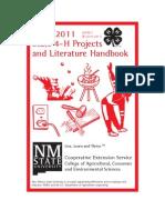 2010-2011 Projects Literature Handbook