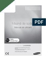 Masina de spalat Samsung- manual de utilizare