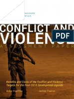 Conflict Assessment - Hoeffler and Fearon 0