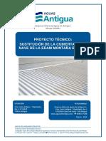 Proyecto Sustitucion cubierta EDAM Montaña Blanca.pdf