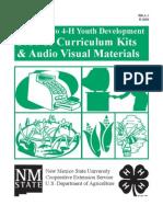2010-2011 4-H Curriculum Kit Catalog