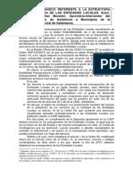 Esquema Basico Nueva Estructura Presupuestaria EELL