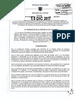 Decreto 2124 Del 18 de Diciembre de 2017