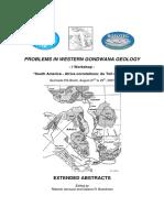 Problems in Western Gondwana Geology I