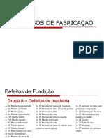 Defeitos de Fundição_2016