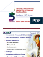Venezuela Oil & Gas Presentation UKTI T&T Jan 2010