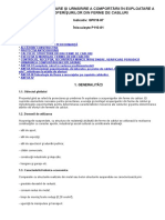 Ghid de Proiectare Şi Urmărire a Comportării În Exploatare a Acoperişurilor Din Ferme de Cabluri Gp018-97