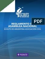 Reglamento Asamblea Nacional