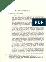 O Problema Da Reflexão - Gianotti