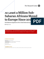 At Least a Million Sub-Saharan Africans Moved to Europe Since 2010 report