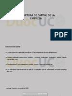 Estructura de Capital de La Empresa Parte 1-18 Clase 1