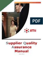 IMI Group SQA Manual v2012 3