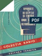 Aparate de Emisie Si Receptie de Unde Scurte Si Ultrascurte - Liviu Macoveanu YO3RD 1958