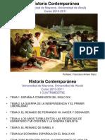 Historia Contemporanea -Universidad de Alcala