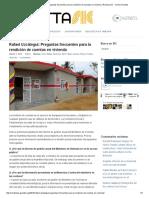 Rafael Uzcátegui_ Preguntas Frecuentes Para La Rendición de Cuentas en Vivienda _ Revista SIC - Centro Gumilla