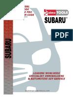 Subaru Manual Es