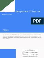 Ejemplos Art 27 Ley del ISR - por Mauricio Atri Cojab