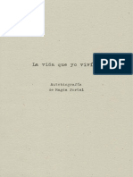 La Vida Que Yo Vivi - Autobiografia de Magda Portal