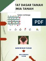 5. Sifat Dasar Tanah - Kimia Tanah