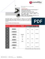 Comdiflex Kammprofile Gaskets Technical Catalogue.