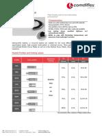 Comdiflex Kammprofile Gaskets Technical Catalogue.