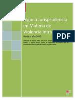 ALGUNA JURISPRUDENCIA EN MATERIA DE VIOLENCIA INTRAFAMILIAR.doc